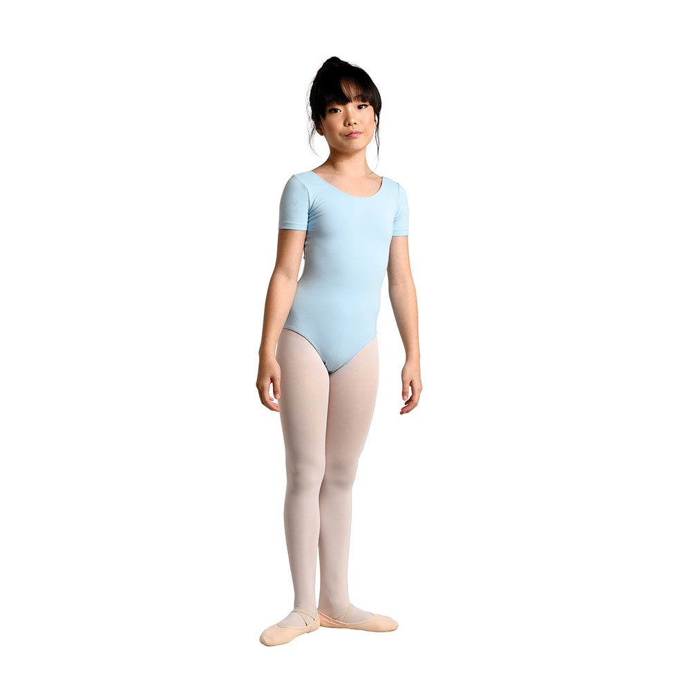 a9129158e 213C – Basic Short Sleeve Leotard – Danshuz