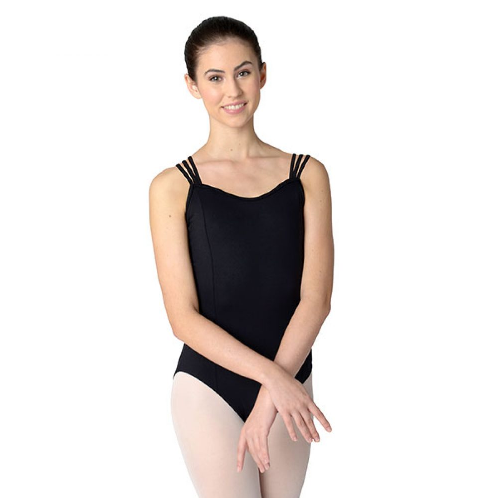 Crisscross Triple Strap Leotard