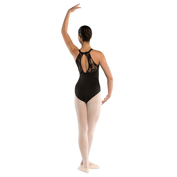 Oval Lace Back Leotard